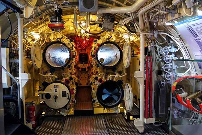 U-Boot Rohr Zum Gucken